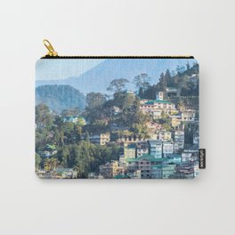 Pastel City : Gangtok Carry-All Pouch
