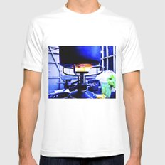 Food made in the cold. White Mens Fitted Tee MEDIUM