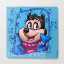Blue Max: PJ Metal Print
