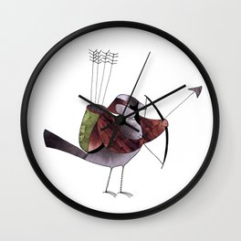 With my bow and arrow Wall Clock