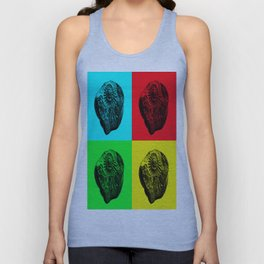 Pop Art Fossil Unisex Tank Top