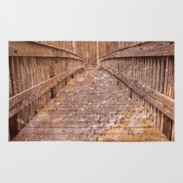 Acrylic Sepia Bridge Rug