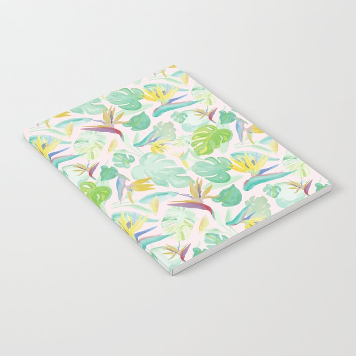 Birds of Paradise Pattern Notebook