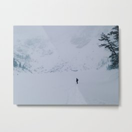 Cold, alone Metal Print