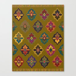 Moroccan tapis traditional Canvas Print