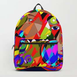 Abstract Great Galactic Globes Backpack