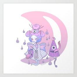 Lovey Lolita Yokai Art Print