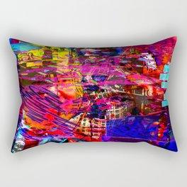 Captioned Life [Random Source Series] Rectangular Pillow