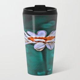 Painted Daisey Travel Mug