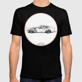 Crazy Car Art 0001 T-shirt