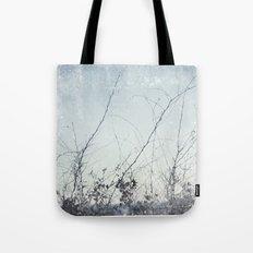 sea plants (light blue) Tote Bag