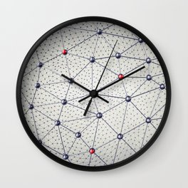Cryptocurrency network Wall Clock