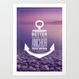 Anchors Collection (3) Art Print