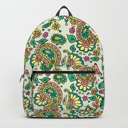 Dominion Paisley Pattern Backpack