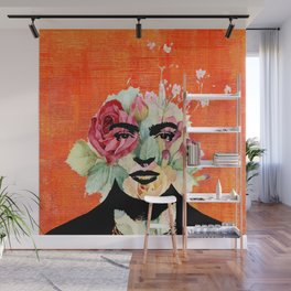 Frida flowers Wall Mural