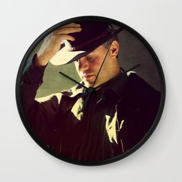 Paying Respects Wall Clock