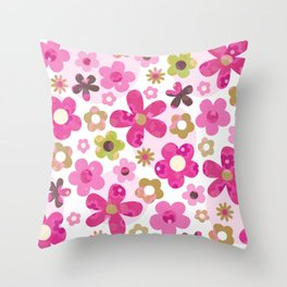 GROOVY BABY! Throw Pillow