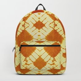 big checkered tie dye in bright mood Backpack
