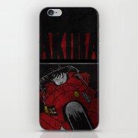 akira iPhone & iPod Skins featuring AKIRA by Zorio