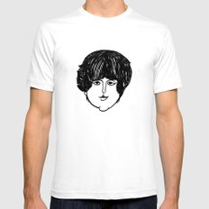 Paul. Mens Fitted Tee White SMALL