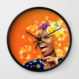 Just a random girl Wall Clock