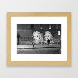 NYC grit Framed Art Print