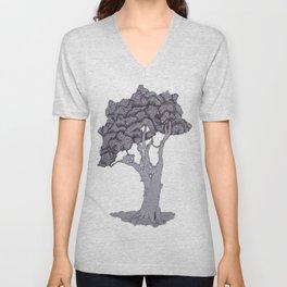Treehouses Unisex V-Neck