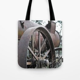 Lincoln Steam Engine #2 Washout Tote Bag