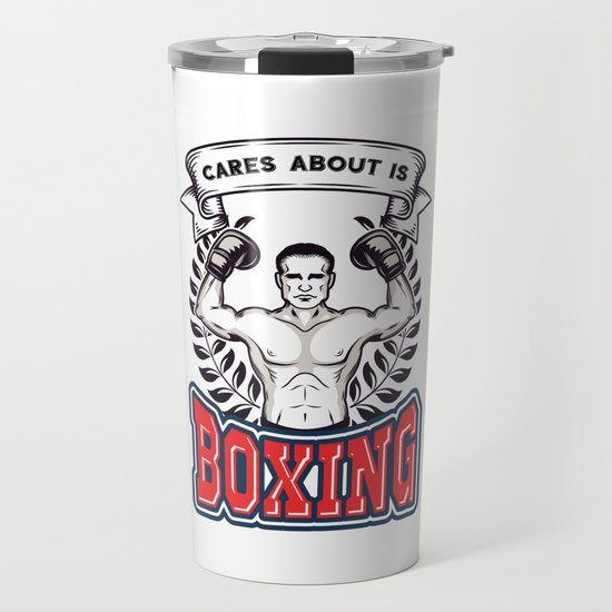 All This Guy Cares About Is Boxing Boxers Athletes Sports Boxing Lovers Gifts by tomgiant