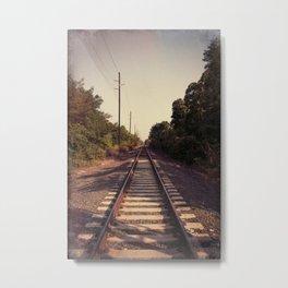 Train Whistle Blues Metal Print