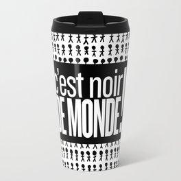 Noir de monde Travel Mug