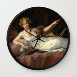 "Francisco Goya ""La Marquesa de Santa Cruz (The Marquise de Santa Cruz)"" Wall Clock"