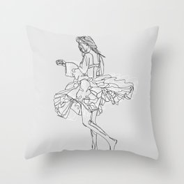 Sweet Freedom Throw Pillow