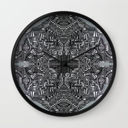 """Tutto sulle mie spalle!"" (0017) Wall Clock"