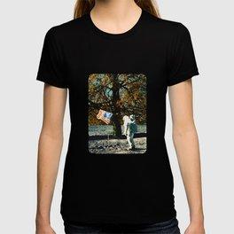 the first man under a tree T-shirt