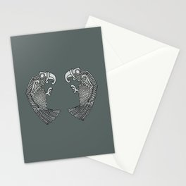 Huginn & Muninn Stationery Cards