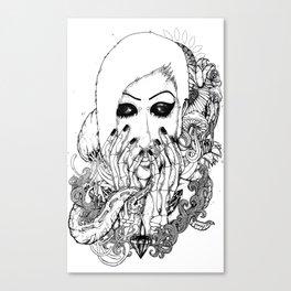 goth love Canvas Print
