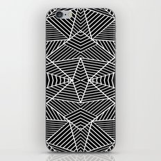 Ab Zoom Mirror Black iPhone & iPod Skin