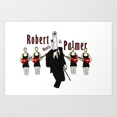 Robert Hearts of Palmer Art Print