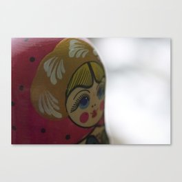 Here's Pinkin' at You, Lady Canvas Print