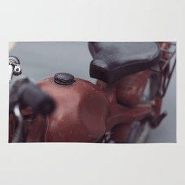 Fine art print, old moto, interior design, hasselblad, still life, high quality photo (n°1) Rug