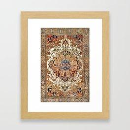 Ferahan Arak  Antique West Persian Rug Print Framed Art Print