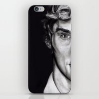 cumberbatch iPhone & iPod Skins featuring Benedict Cumberbatch  by Hannah D