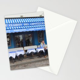 French Cafe Stationery Cards