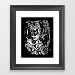 Bastet Framed Art Print