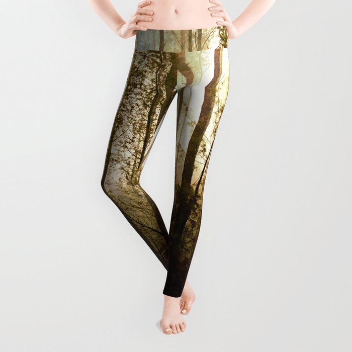 Glowing Forest Leggings