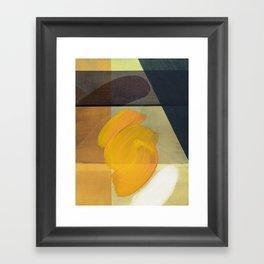 orange one Framed Art Print