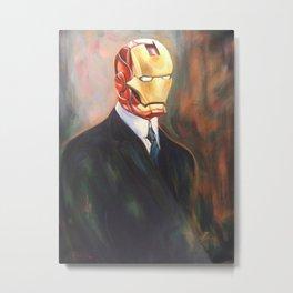 Iron Monsieur Metal Print