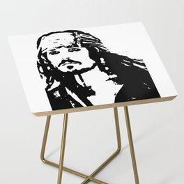 pirates caribbean sea Side Table