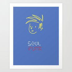 Soul Punk Art Print